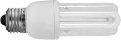Kompaktní zářivka, 230V/11W, E27 3xU, denní bílá, 4000K