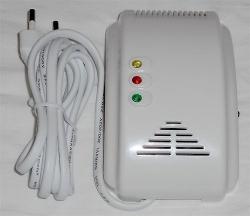 Detektor plynu GL-100A pro zemní plyn, LPG, metan, bezdrátový