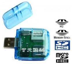 Čtečka paměťových karet SD, Micro SD, M2, MS DUO