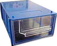 Krabička na součástky, stohovací 150x90x45 mm