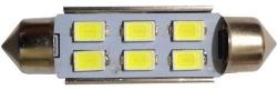 Žárovka LED SV8,5-8 sufit 36mm 12V/2W bílá