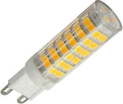 LED žárovka G9, 75x SMD2835, 230VAC/4,5W, teplá bílá