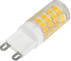 LED žárovka G9, 51x SMD2835, 230V/3,5W, teplá bílá