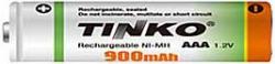 Akumulátor nabíjecí NiMH AAA 1,2V/900mAh, TINKO, 1ks