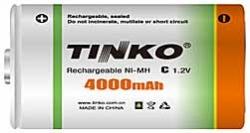 Akumulátor nabíjecí NiMH C, 1,2V/4000mAh, TINKO, 1ks