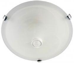 Stropní světlo - disk s PIR čidlem, 230V/2x40W