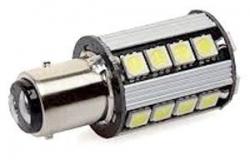 Žárovka LED BaY15D 10-30V/5W bílá, brzdová/obrysová, CANBUS