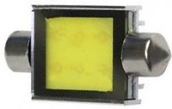 Žárovka LED SV8,5-8 sufit 39mm COB 12V/6W, bílá