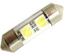 Žárovka LED SV8,5-8 sufit 31mm 12V bílá, 2xSMD 5050