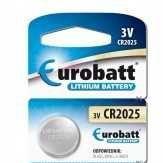 Baterie Eurobatt CR2025 3V lithiová, 1ks